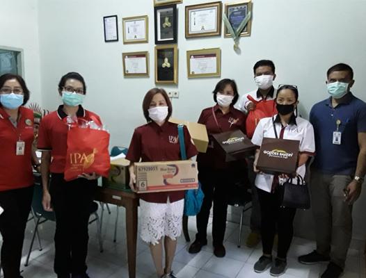 IPA Bali Bantu Tenaga Medis Covid-19